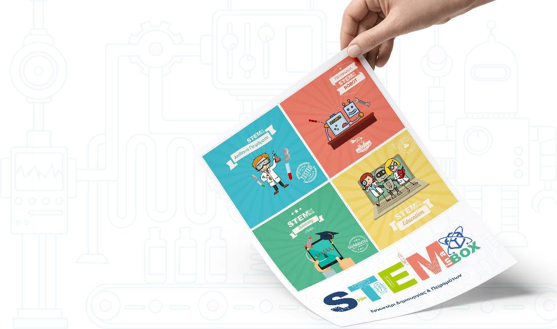 Stem in a BOX - Brochure Design