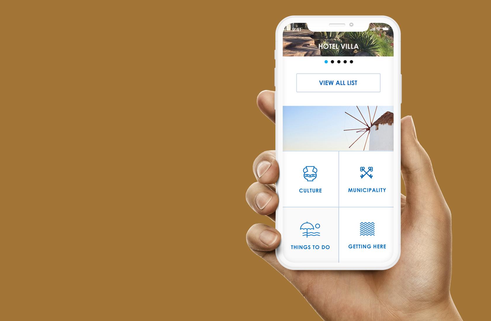 Mobile Website UI Design